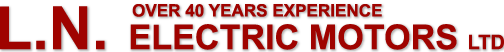 L.N. Electric Motors Ltd. - Over 40 Years Experience
